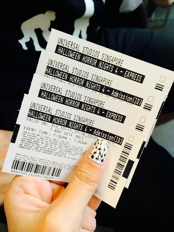 Halloween Horror Nights Singapore Tickets