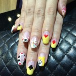 CNY Nails – Alice in Wonderland!