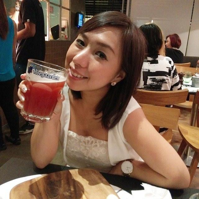 Enjoying drinks with my #Punggolians!
