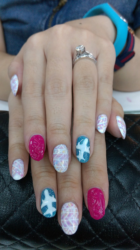 nadnut, Singapore Lifestyle Blog, Milly's, Milly's blogger, nailart