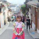Rent a hanbok in Korea