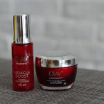 Olay Regenerist Miracle Duo does it for me.