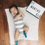 Aidan's 16 & 17 months milestones
