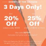 PSA: Shopbop 20% off sale!