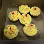 Rainbow cupcakes by Shiberty's Sweets!