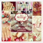 Sponsored Review: Hello Kitty nails by Milly's